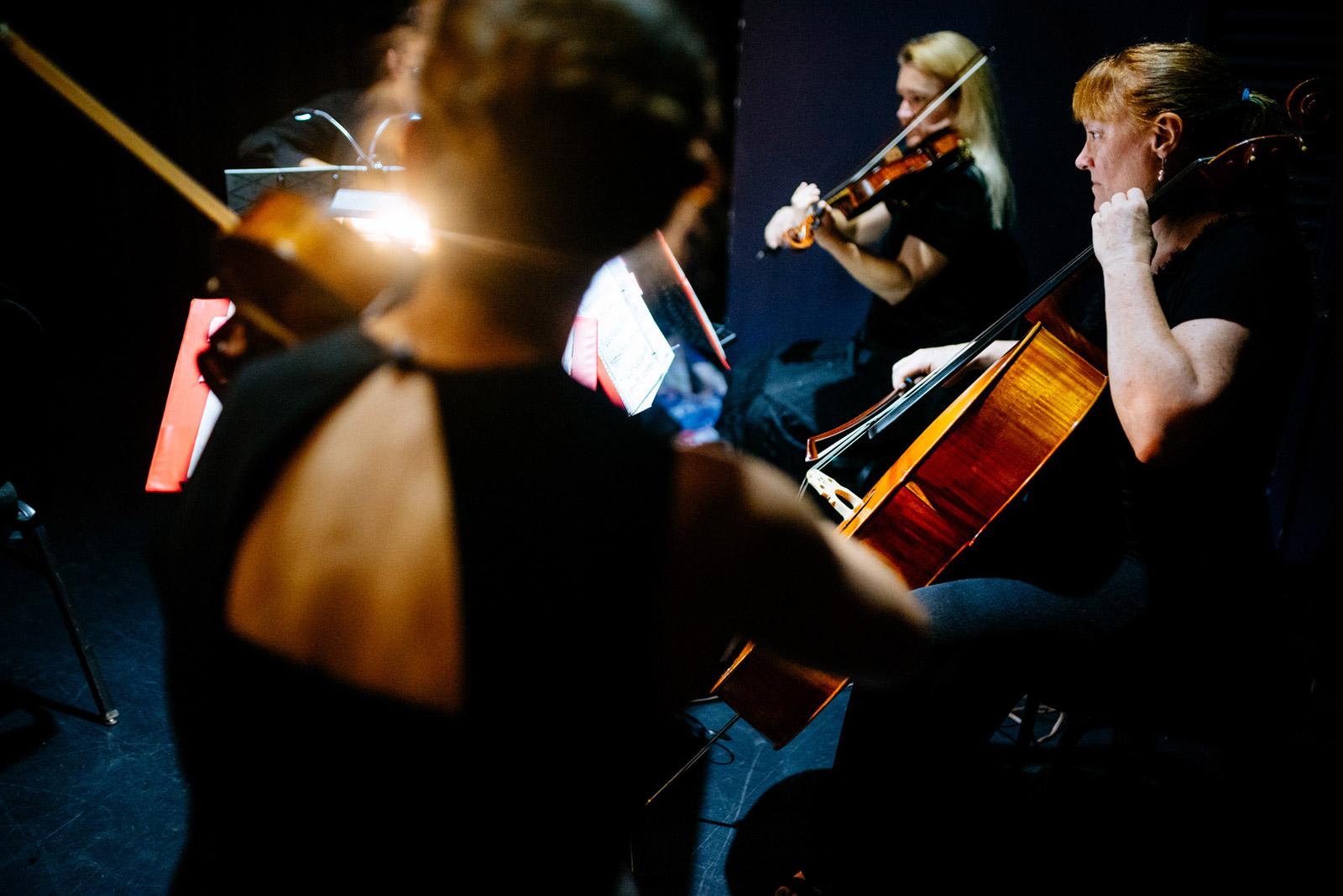 walker theater string quartet charleston wv