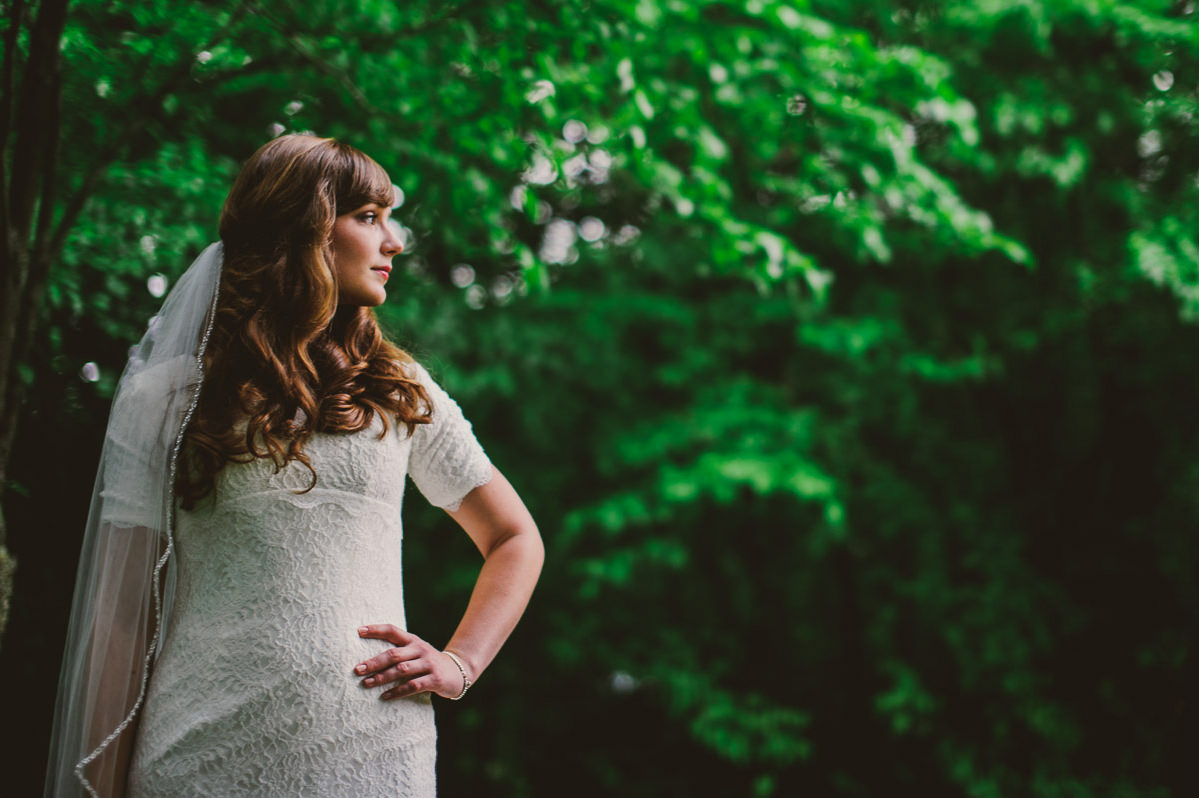 011b appalachian forest bridal photo