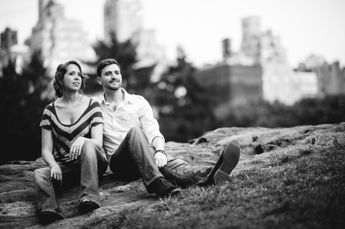 nyc manhattan engagement photos central park cedar hill