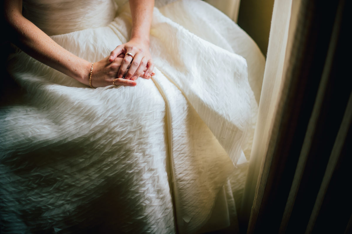 peter langner celebration organza gown detail