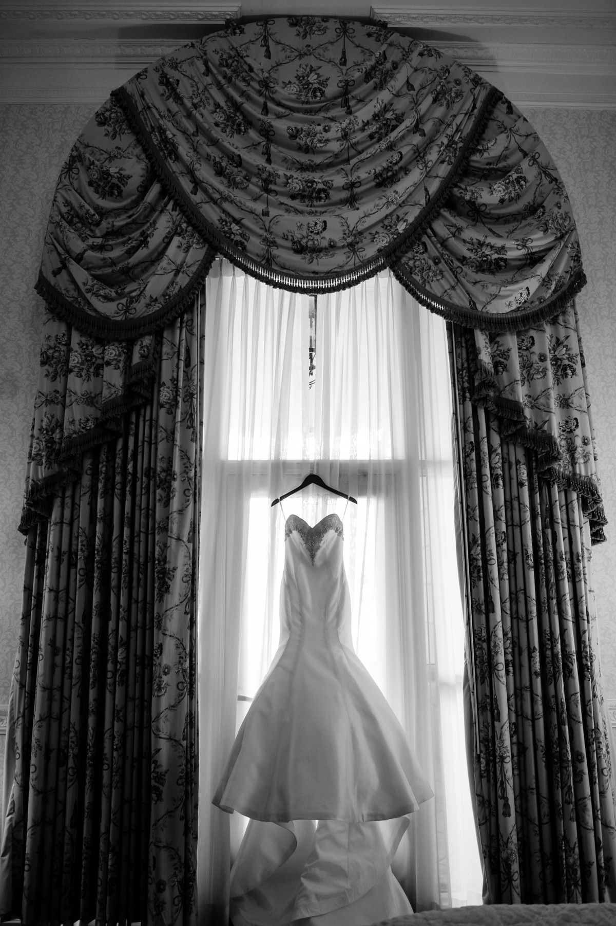 wedding dress at nemacolin resort pa