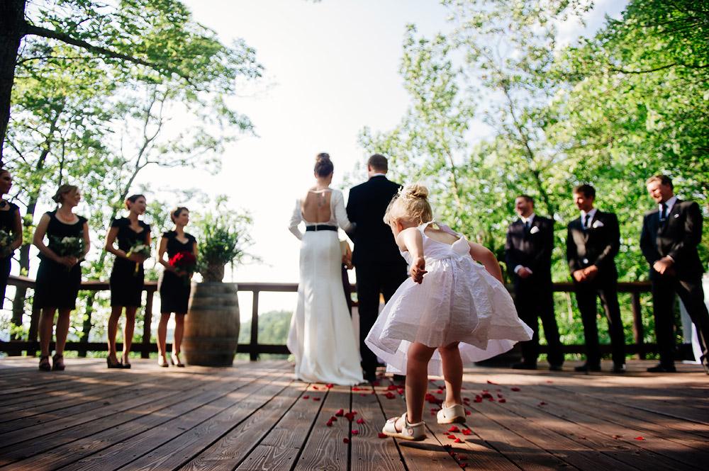 west virginia wedding ceremony