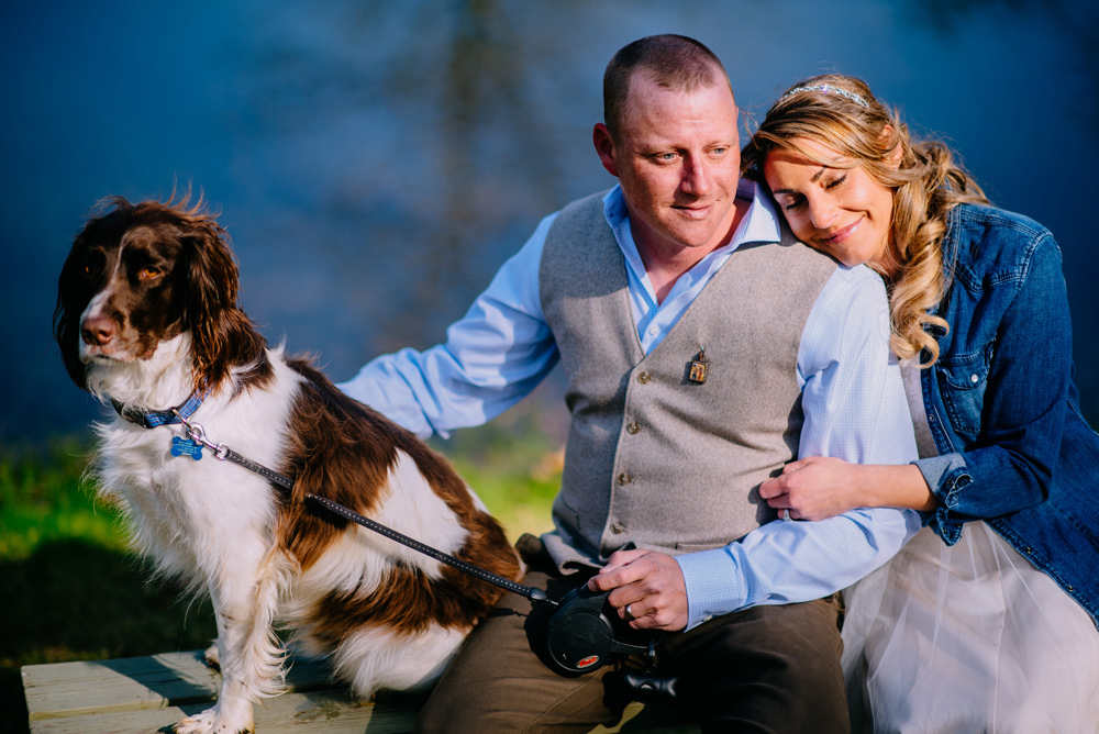 elopement with dog in west virginia