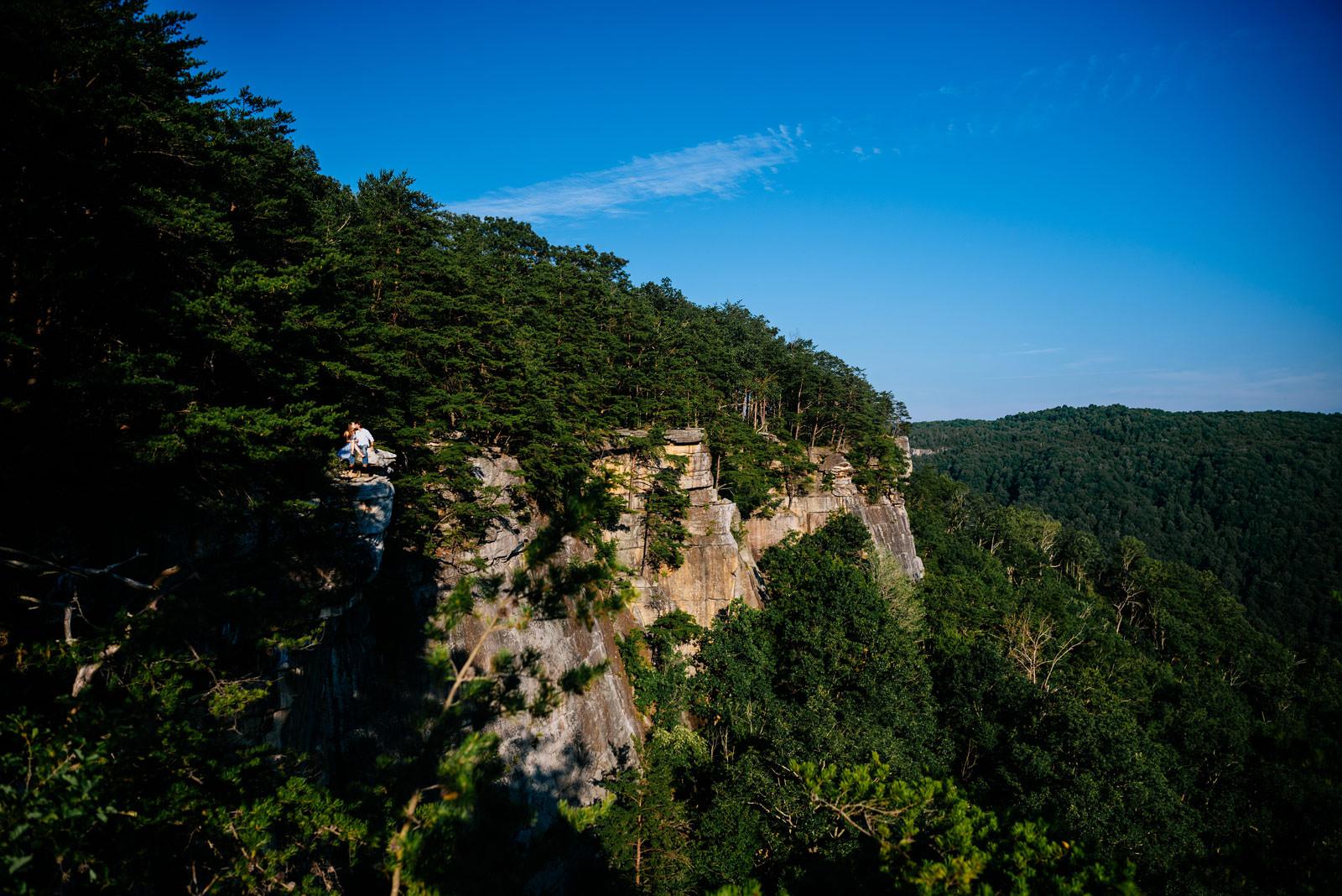 fayetteville wv hiking engagement