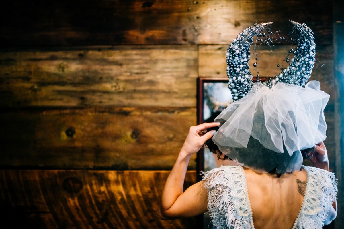 insubordinate avantgarde design crown woodland punk rock wv wedding