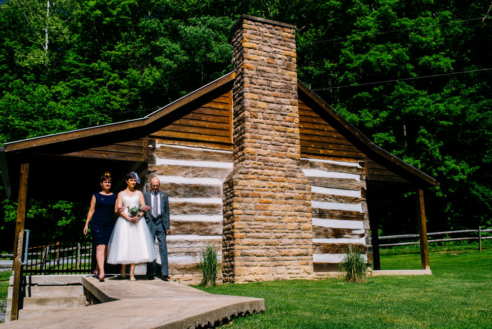 morgantown wv camp muffly wedding ceremony