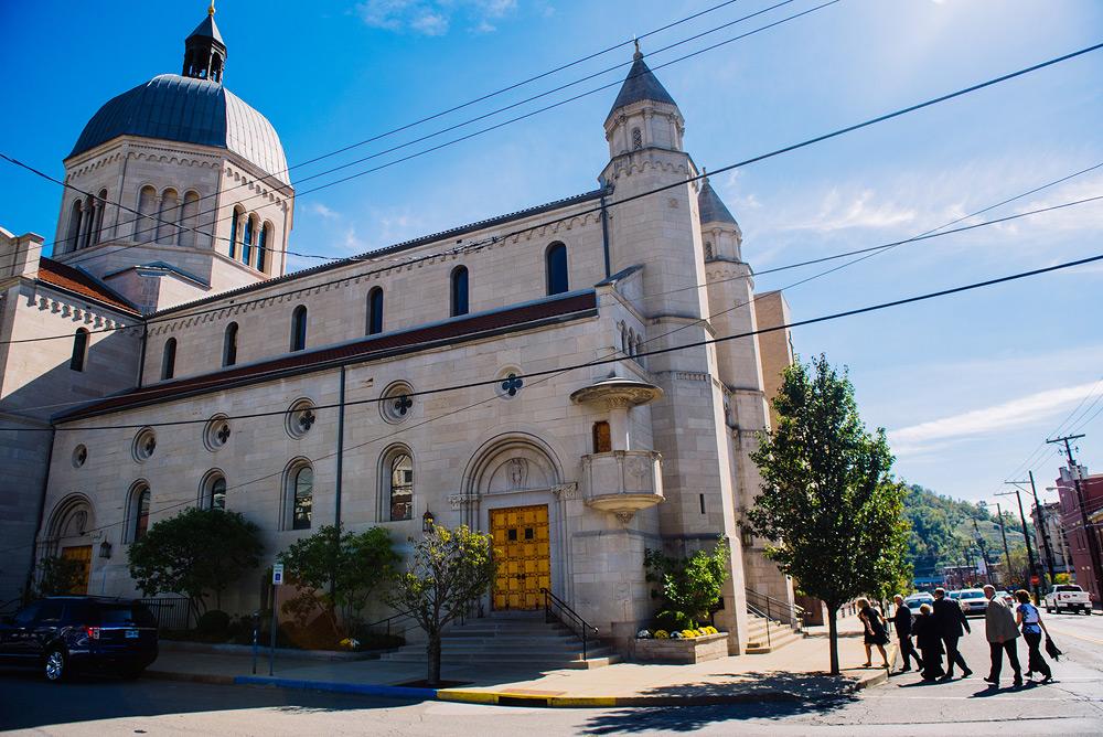 saint joseph cathedral wheeling wv wedding