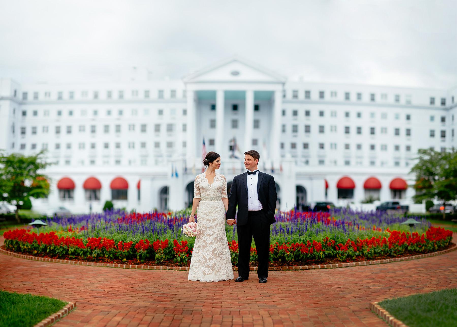 greenbrier resort weddings oberports
