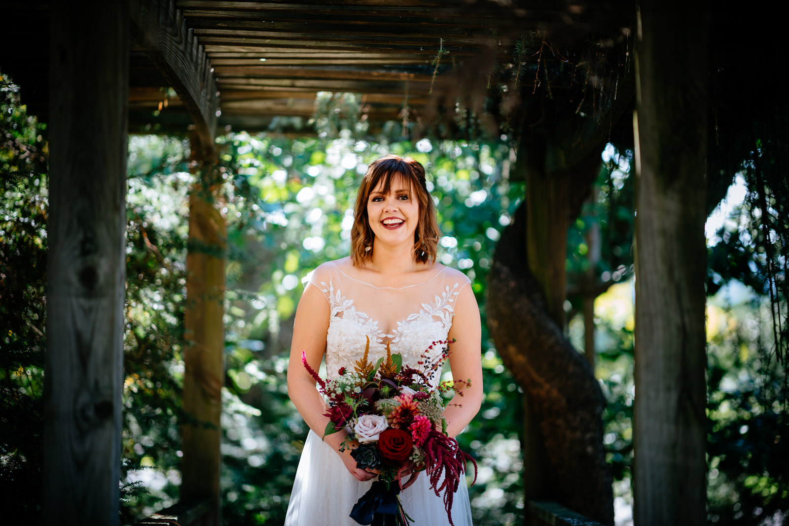 happy wv bride