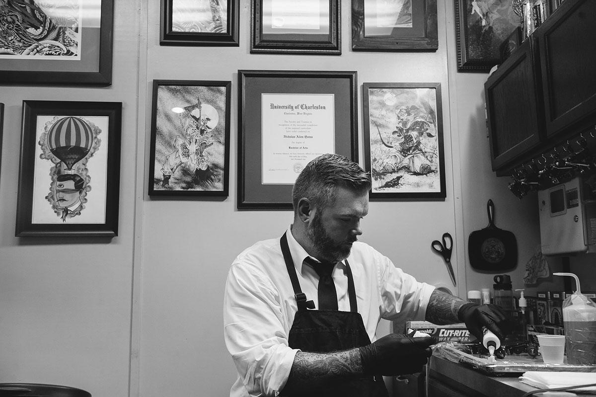 nick quinn tattoo artist extraordinaire