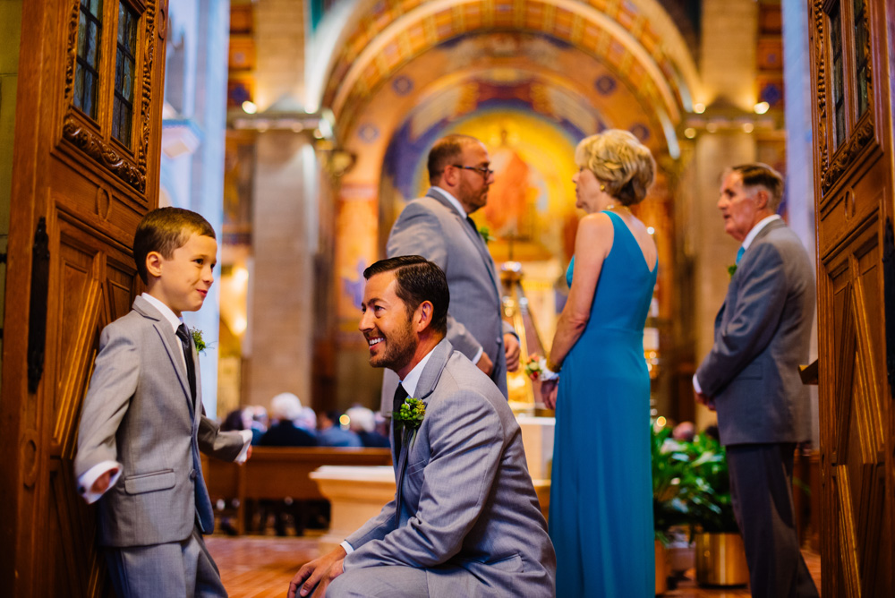 ring bearer before ceremony candid wedding moment by west virginia photographers the oberports