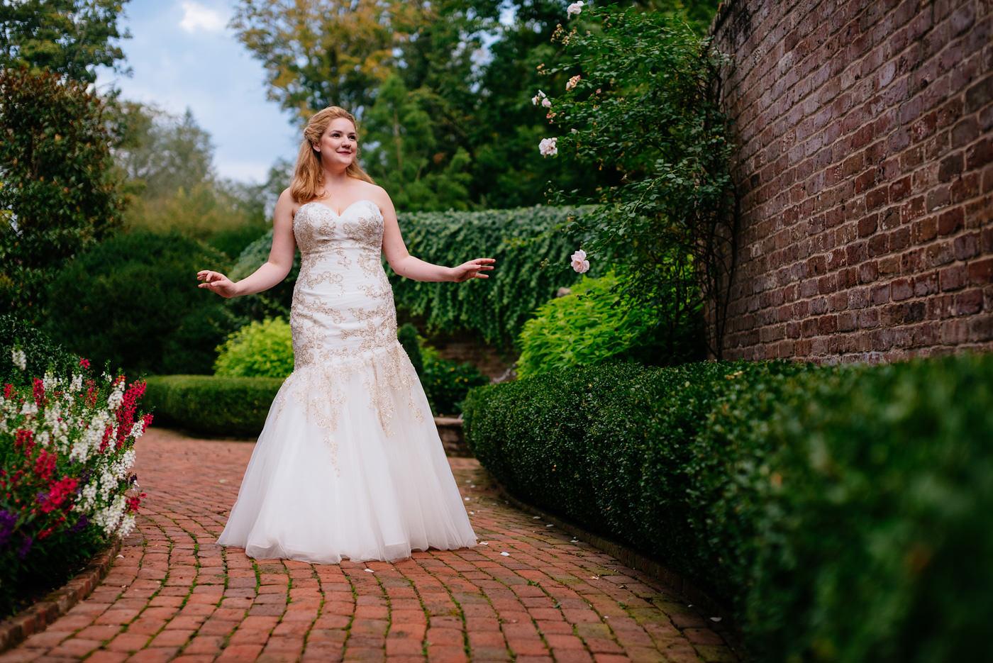 secret garden bridals