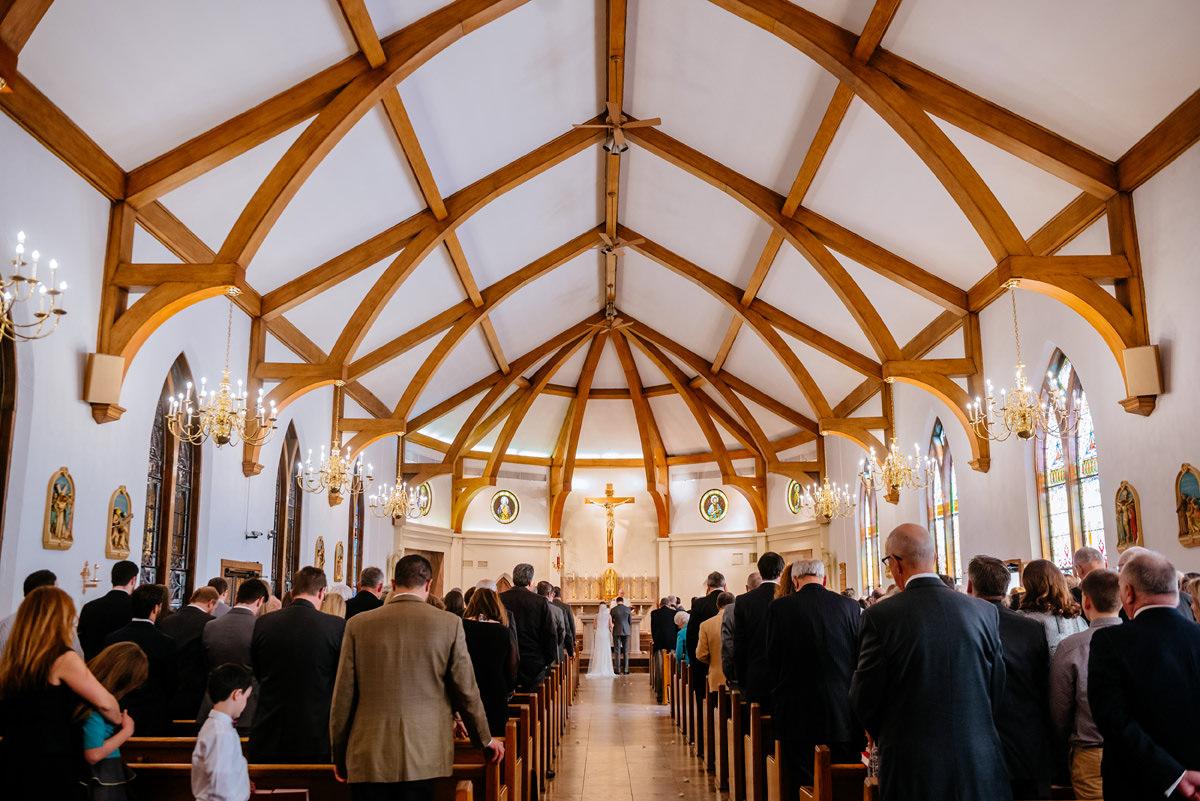 wv winter wedding huntington wv church ceremony