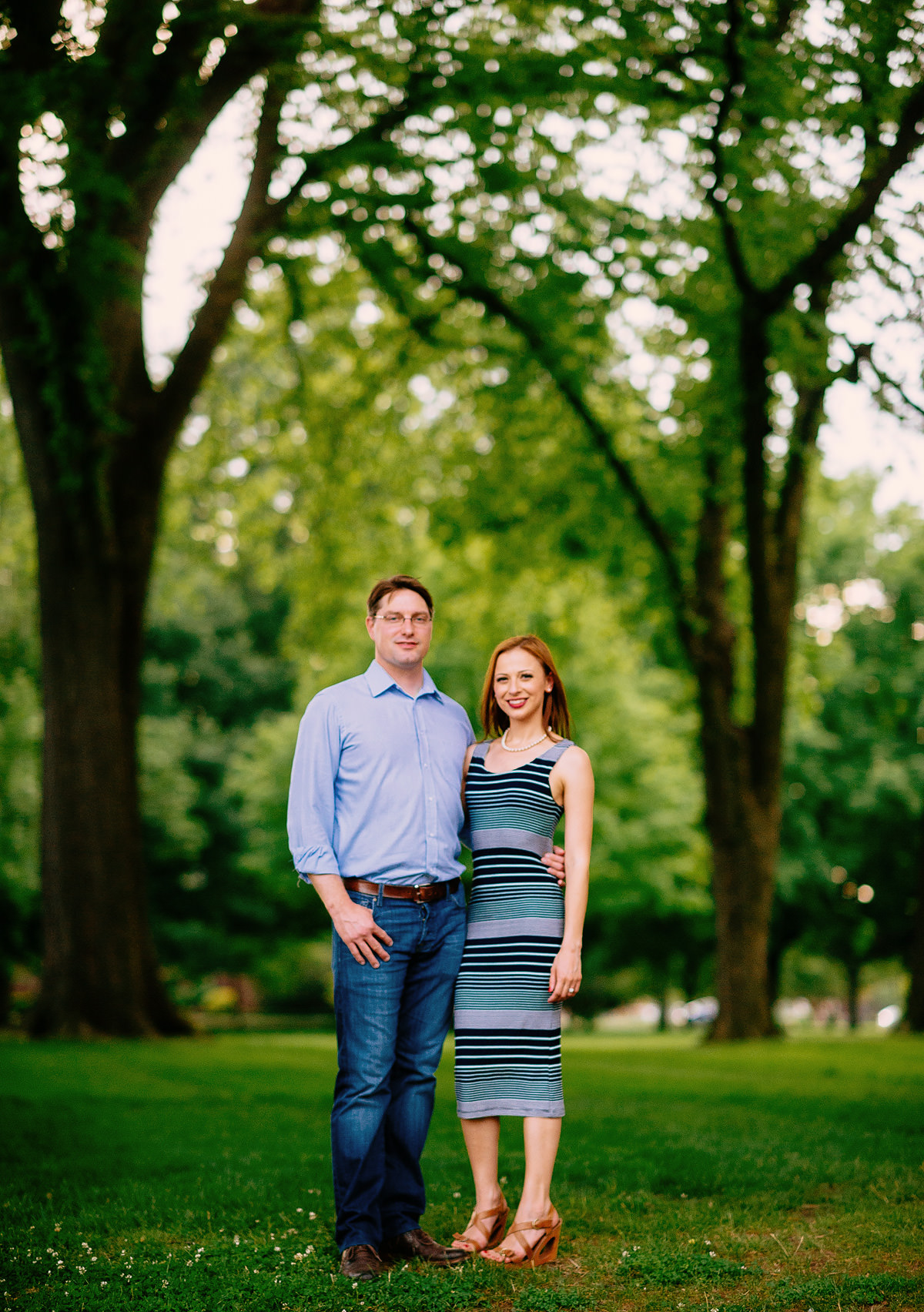 best charleston wv engagement pictures by the oberports
