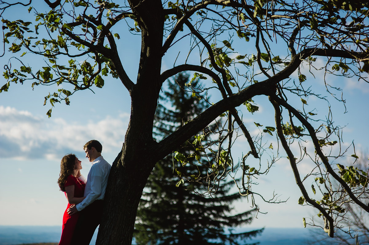 cinematic engagement photos by the oberports