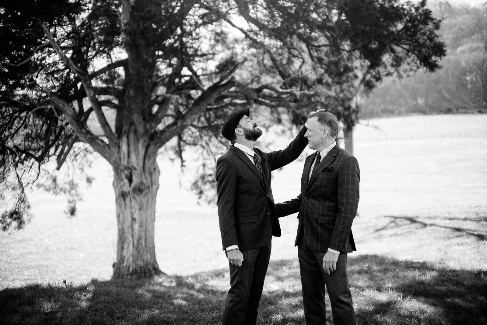 gay wv farm wedding