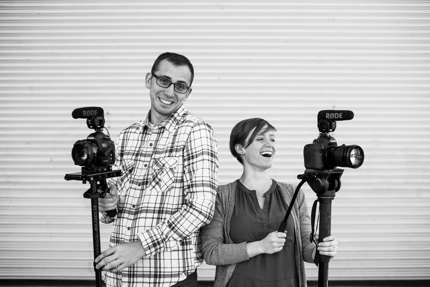 videographer team headshots