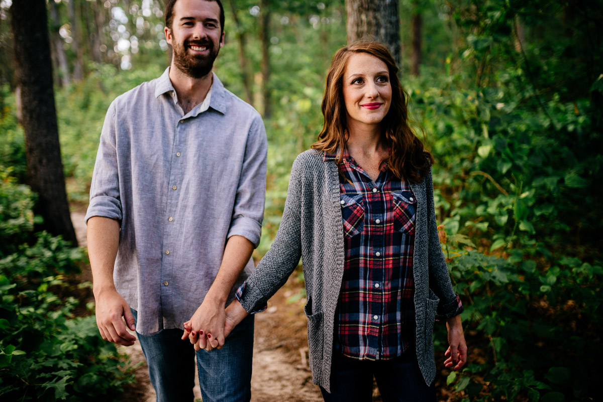 wv engagement forest woodsy