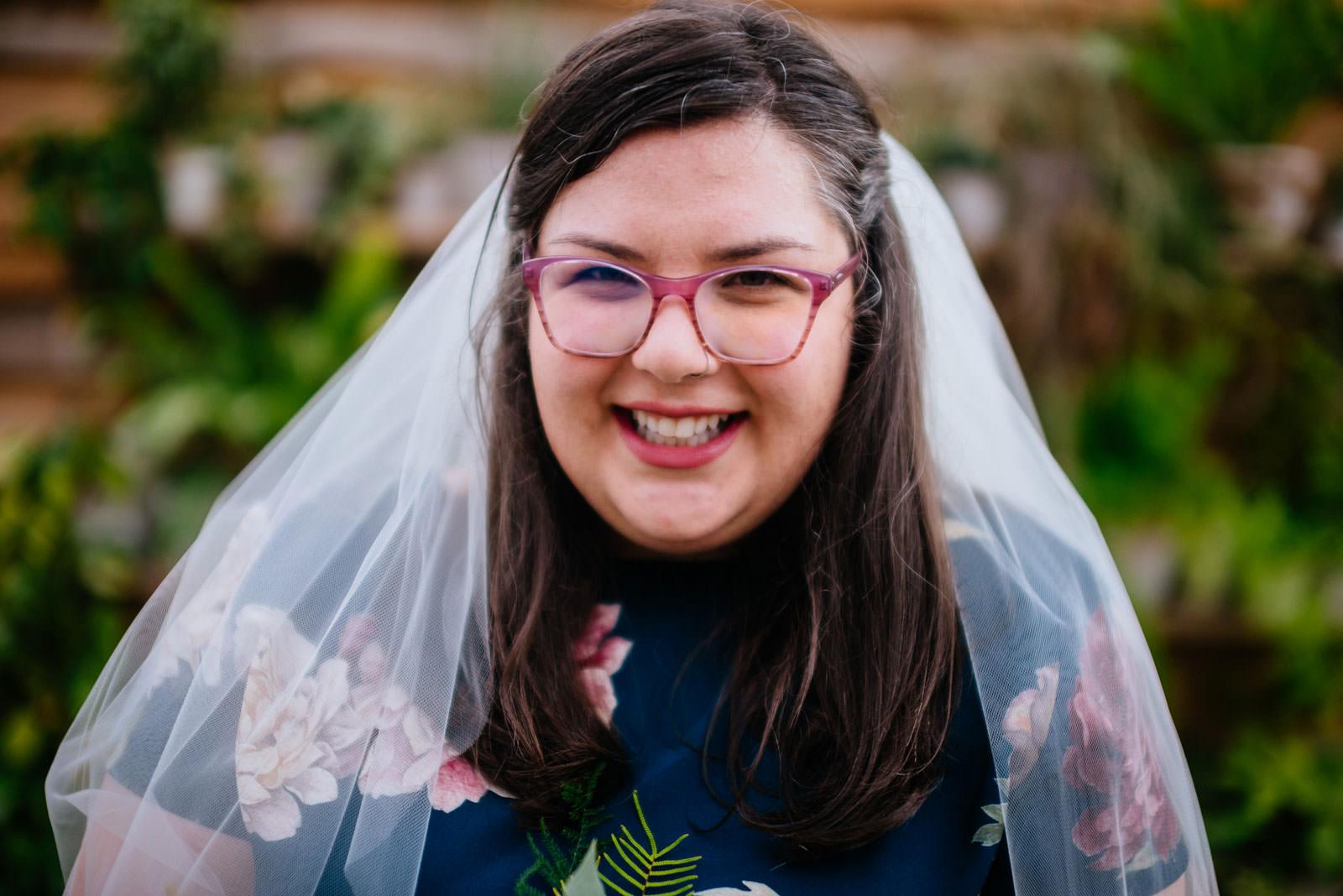 bridal portrait terrain elopement