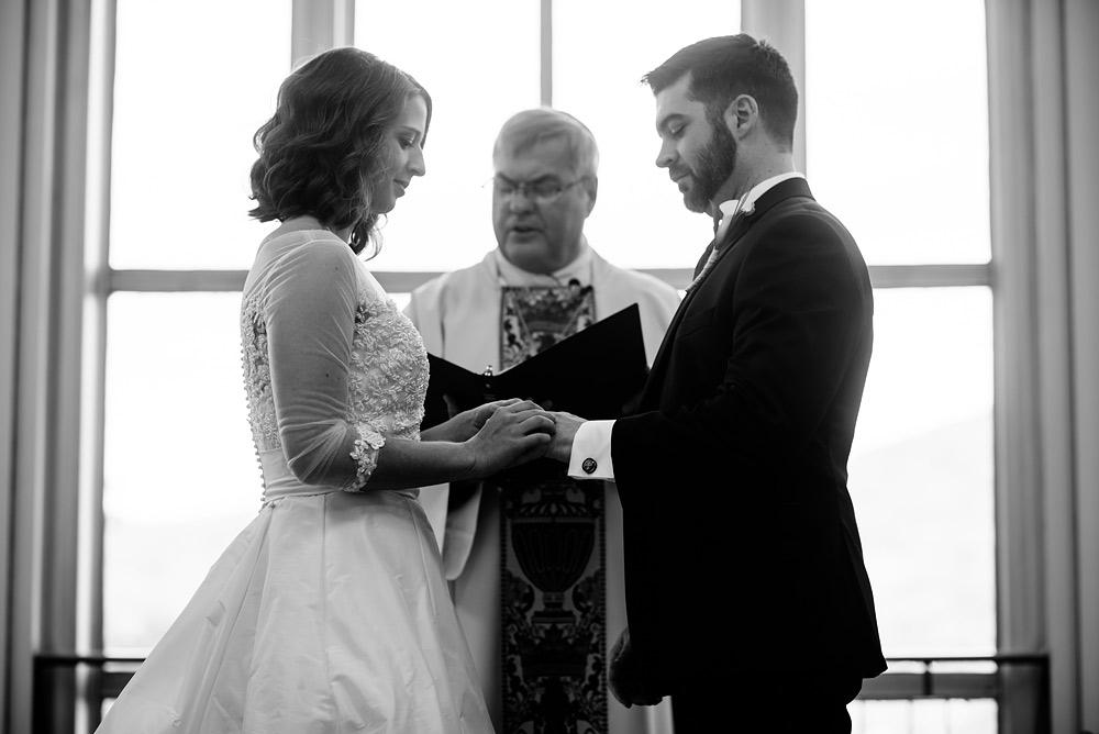 erma byrd gallery wedding ceremony uc charleston wv