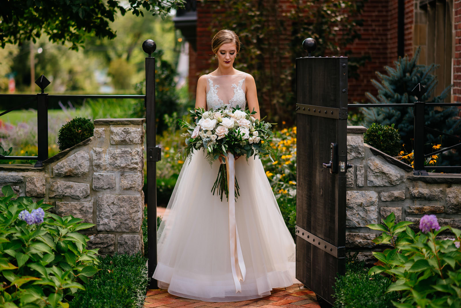 bridal photo zenner house wedding
