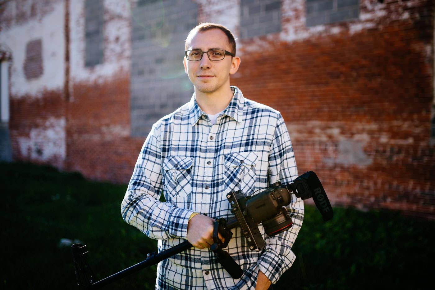 charleston wv videographer headshots