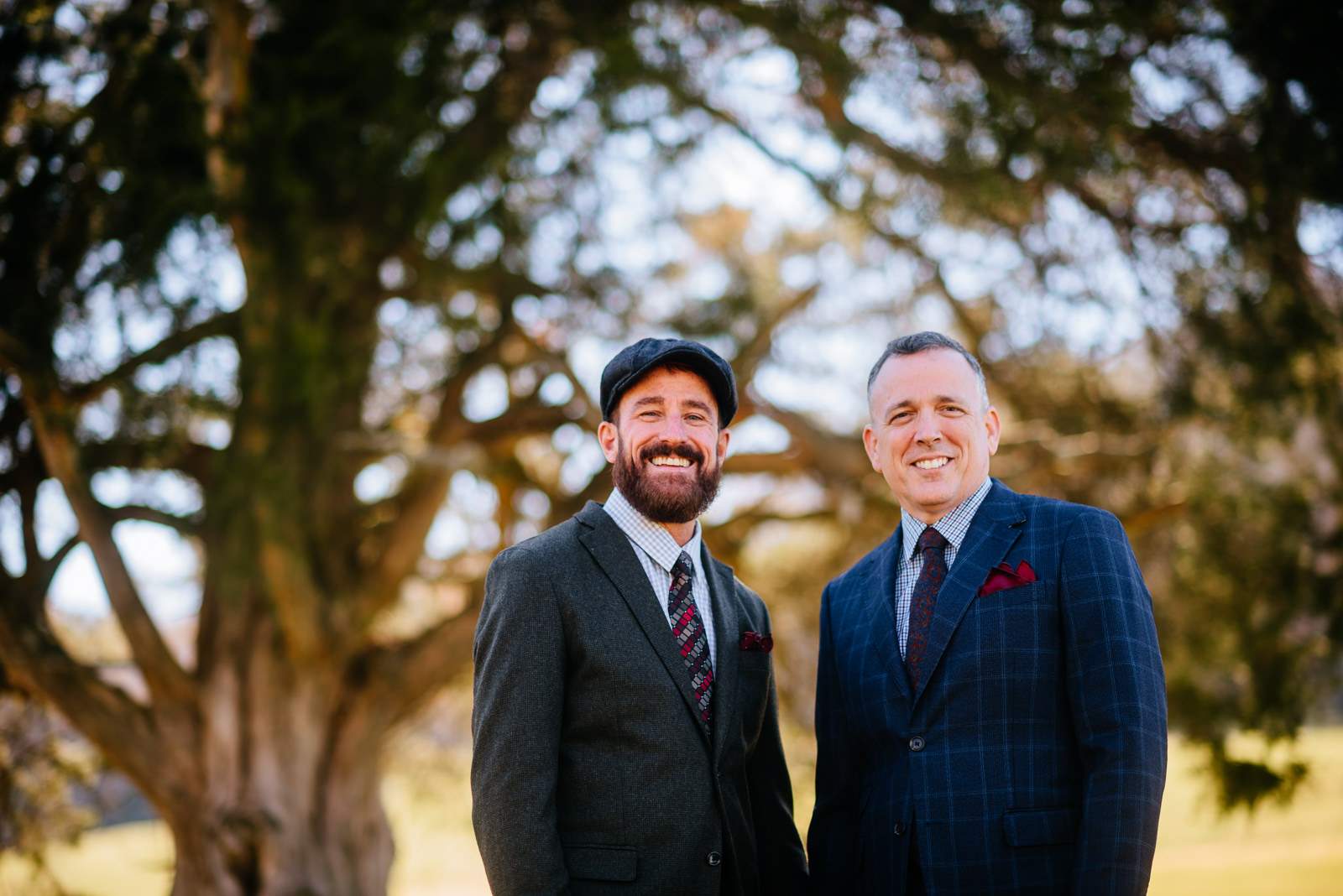 groom portraits same sex wedding