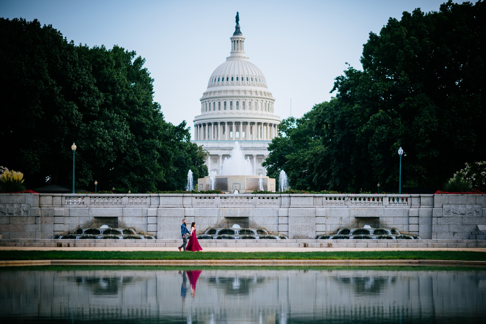 capitol hill dc engagement session