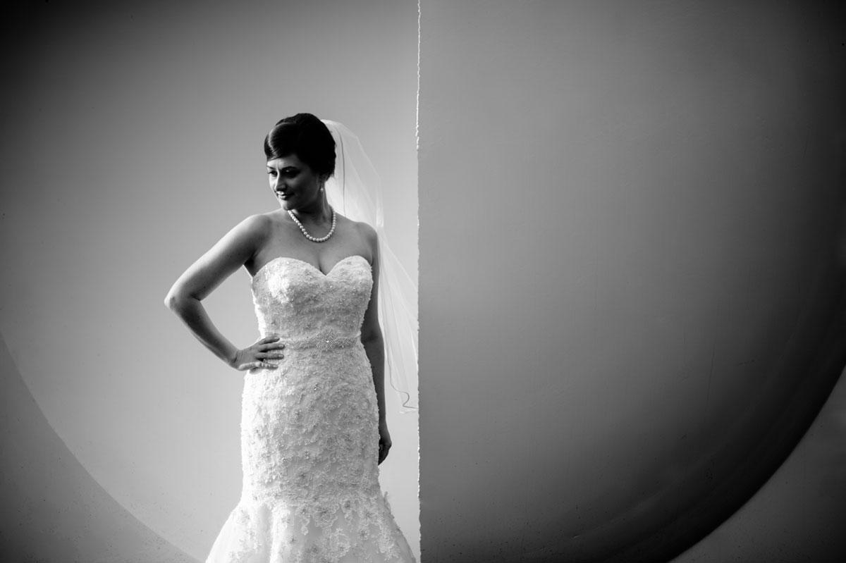 creative west virginia bridal portrait