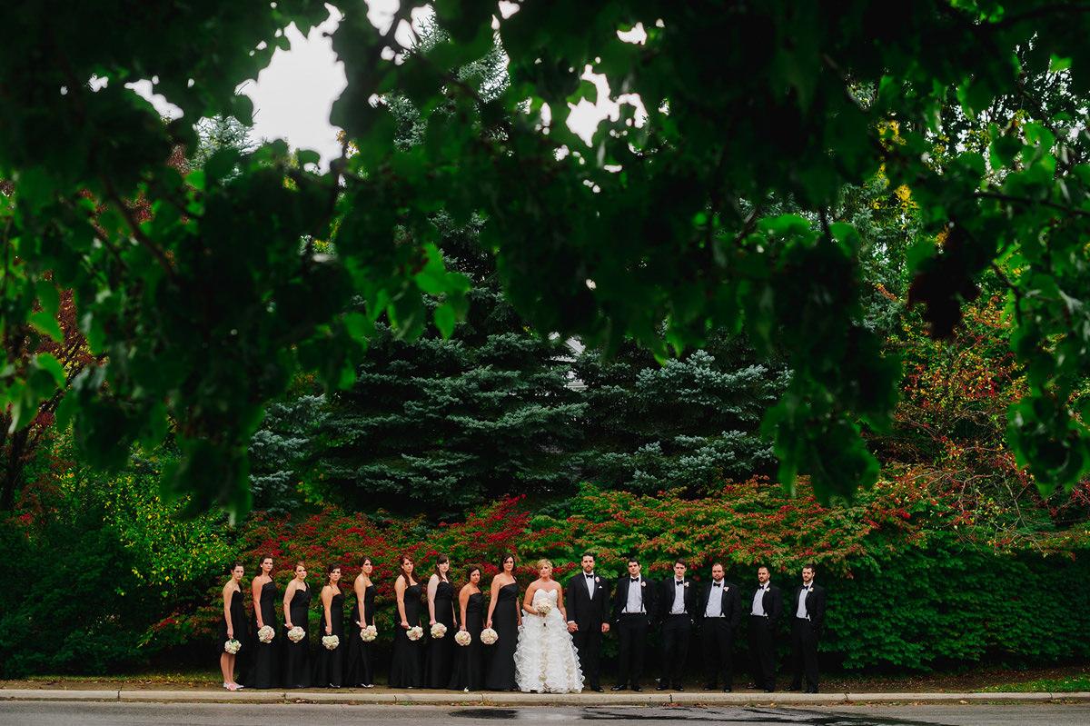 editorial wedding party photos