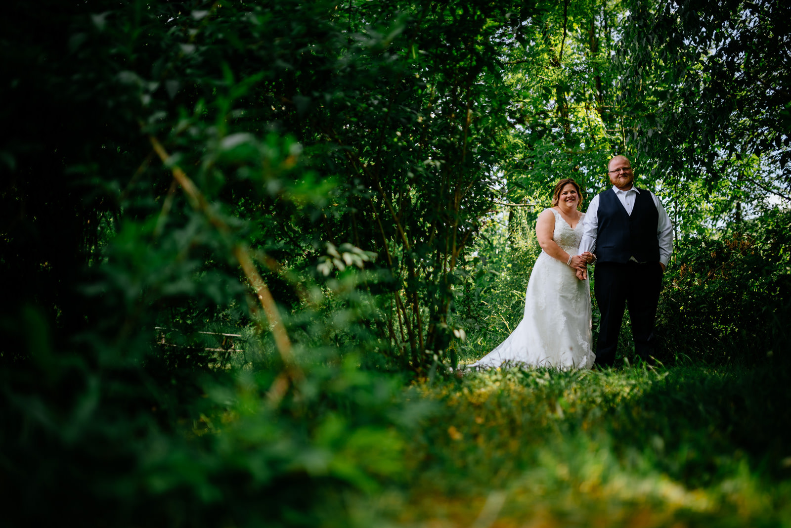 oberports bride groom picture cheat river wedding