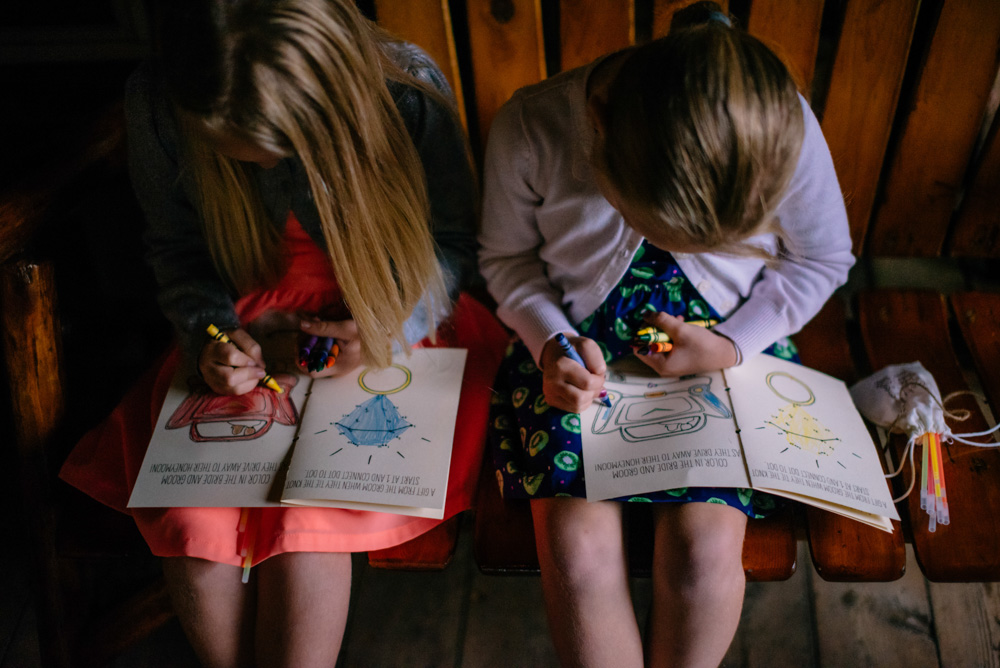 wedding favors kids coloring books