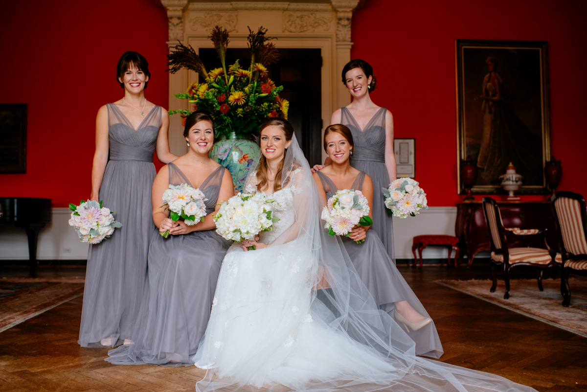 bridesmaids at the greenbrier resort