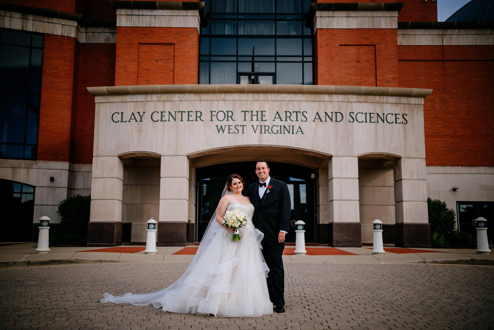 clay center wedding photos