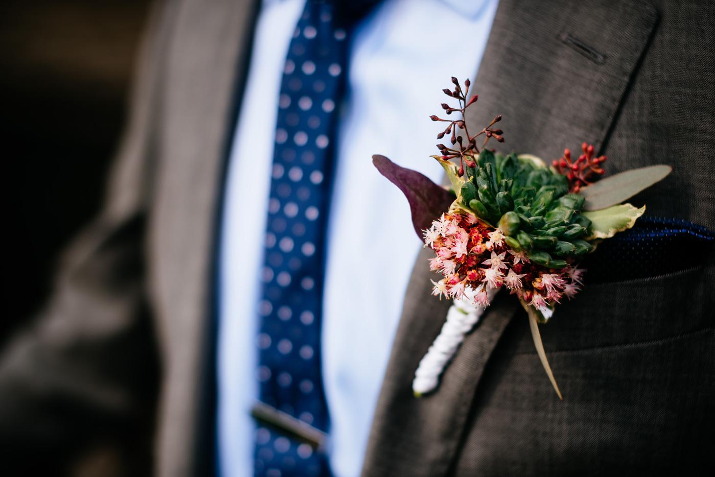 mt lebanon floral boutonniere