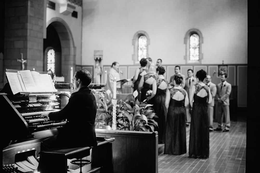 wedding ceremony organist