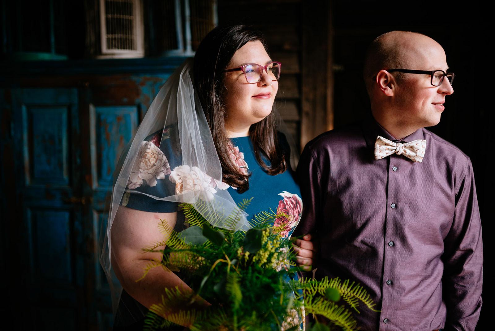 bride groom wedding portraits