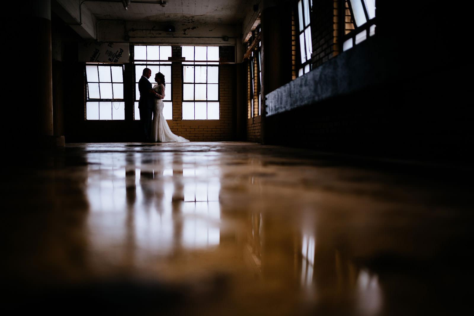 cinematic bride groom portrait morgantown wv wedding