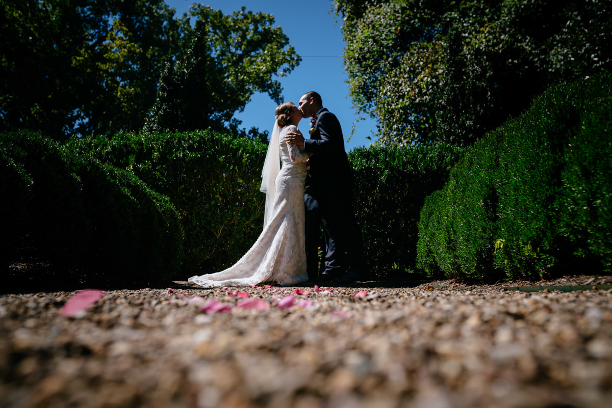 first kiss craik patton house wedding ceremony charleston wv