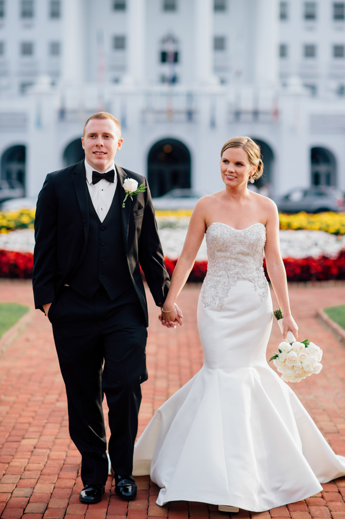 greenbrier resort wedding pictures