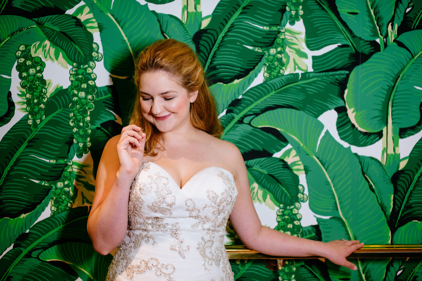 happy bridal portraits at the greenbrier