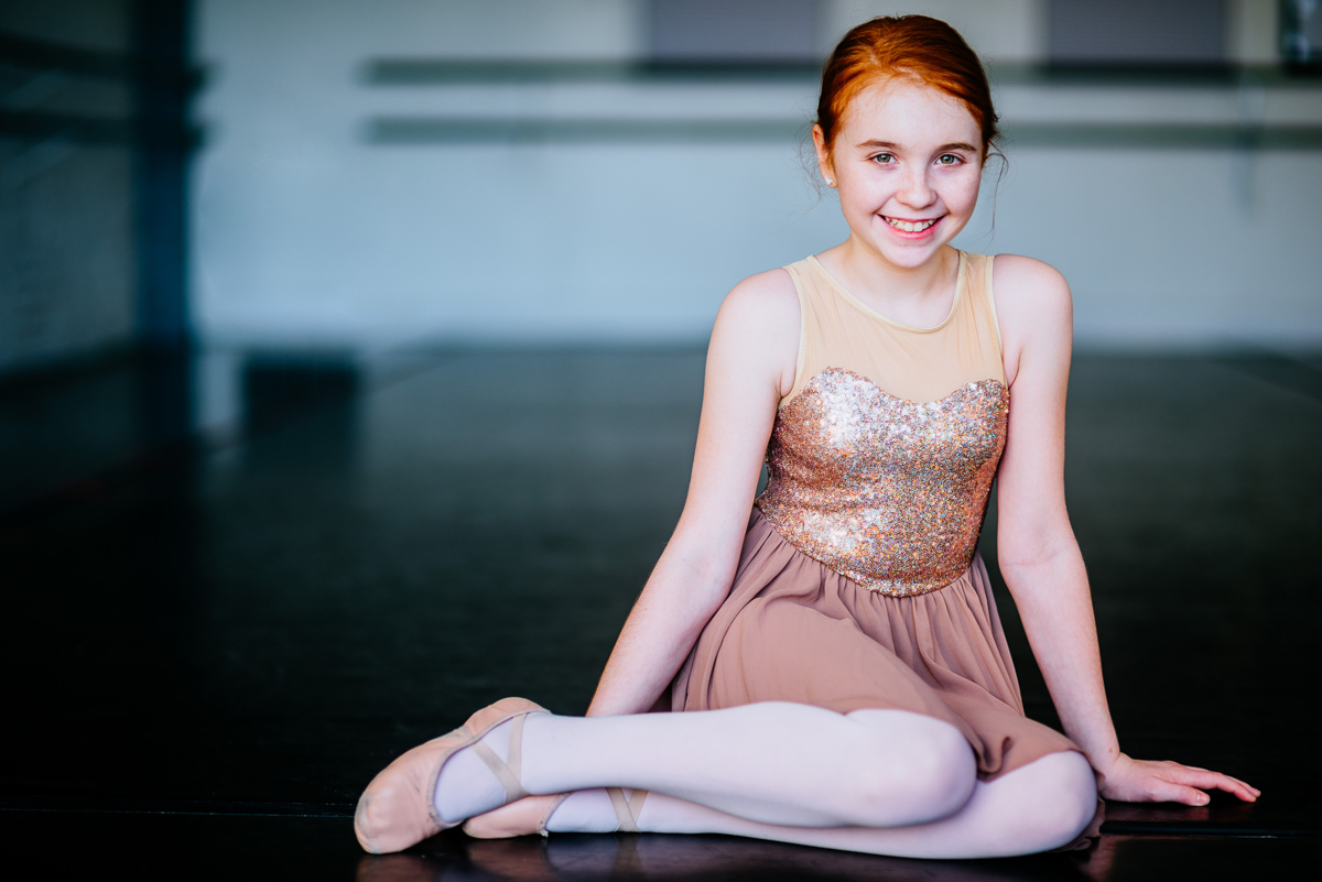 portraits of a young ballerina