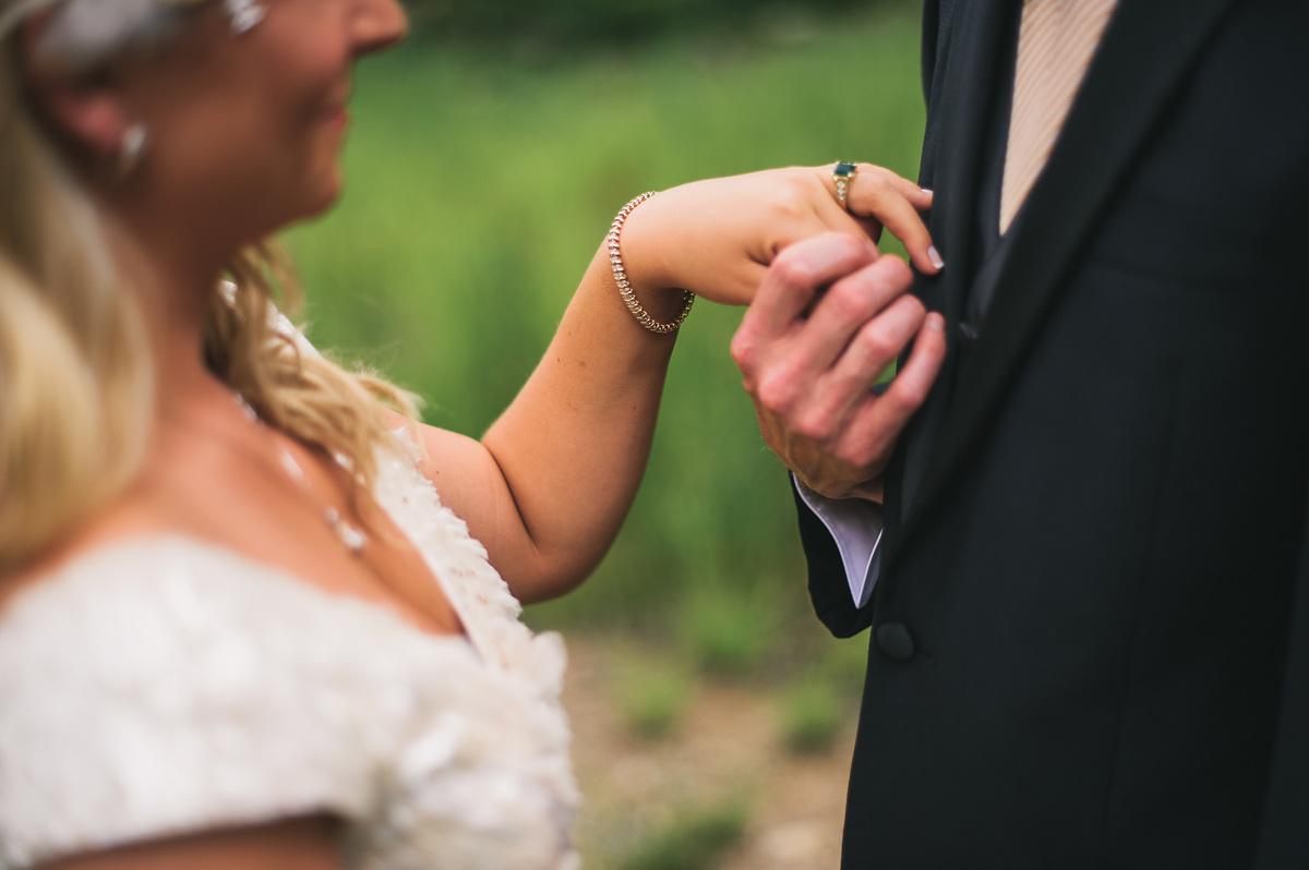 prohibition themed wedding at blackwater falls west virginia