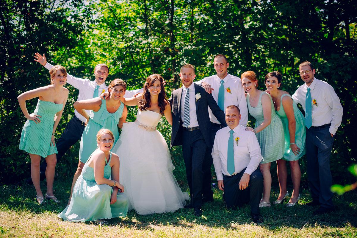 wedding party ohio