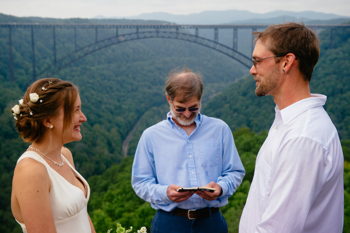 new river gorge bridge elopement by west virginia photographers the oberports