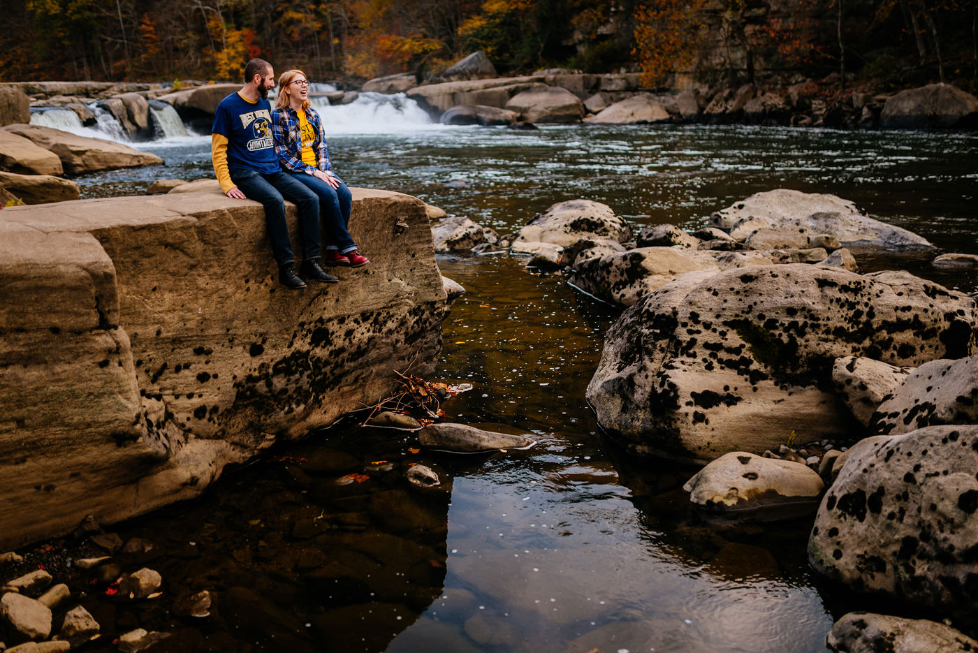 valley falls state park wv couples engagement anniversary portraits