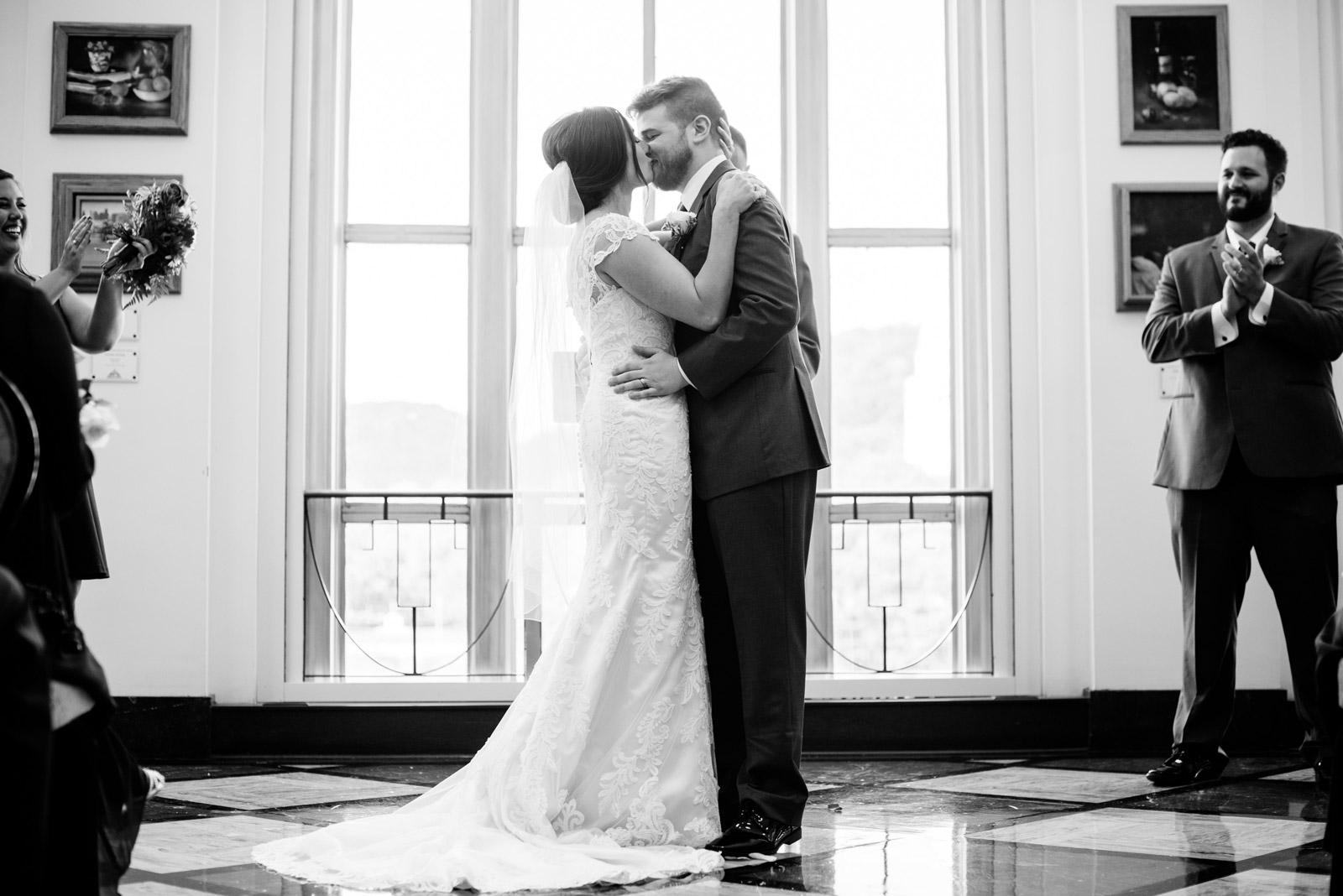 UC wedding ceremony erma byrd gallery