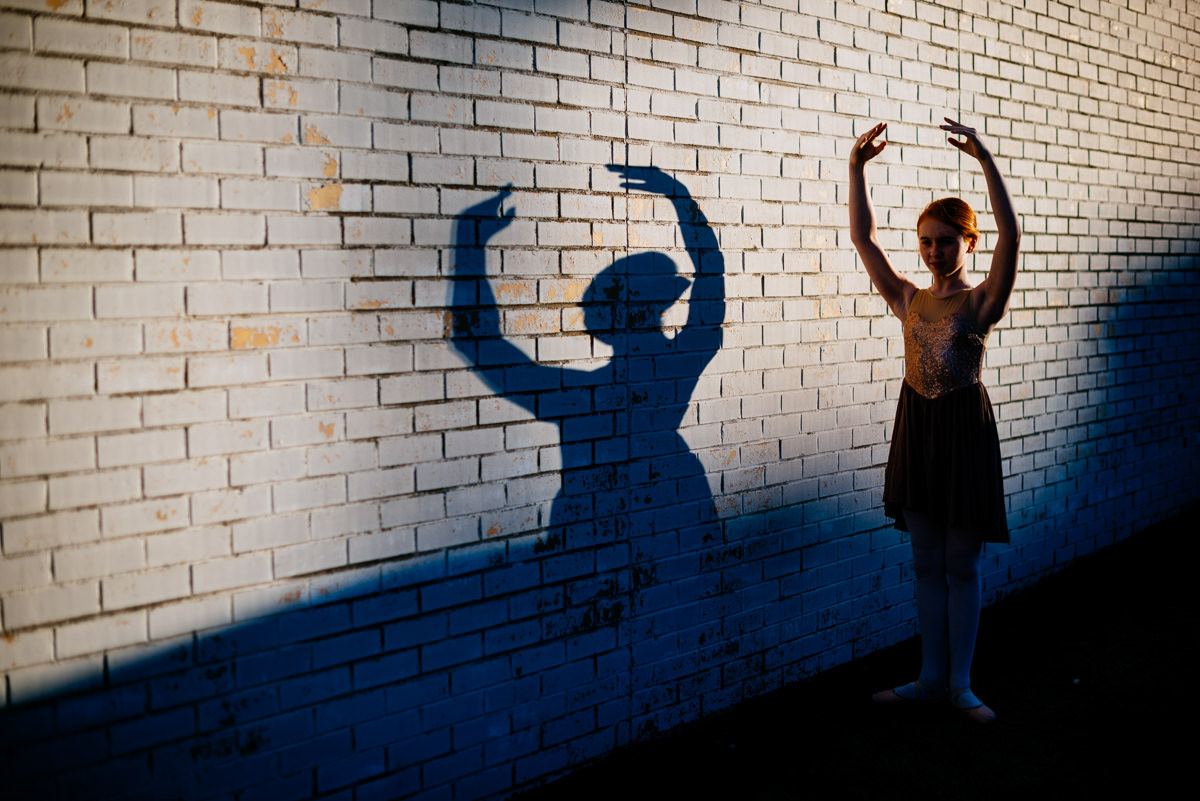 artistic dance portraits silhouette