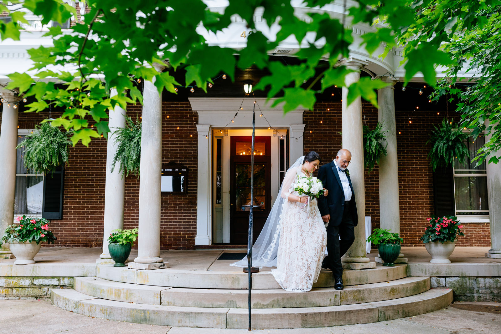 bride father processional holly hill inn wedding lexington ky
