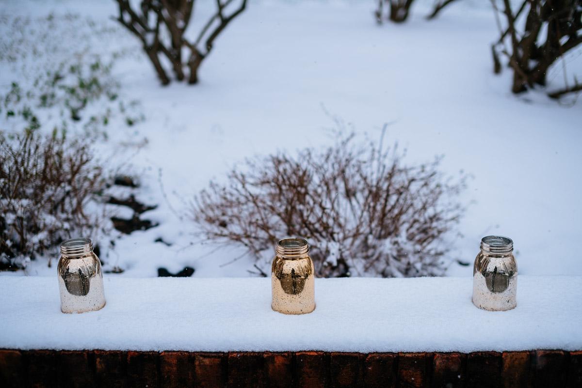 lewisburg wv elopement snowy springtime wedding
